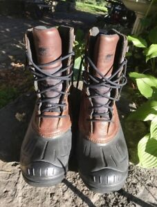Sorel winter boots size 15 in new condition