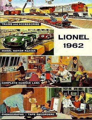 1962 LIONEL TRAINS CONSUMER CATALOG MINT
