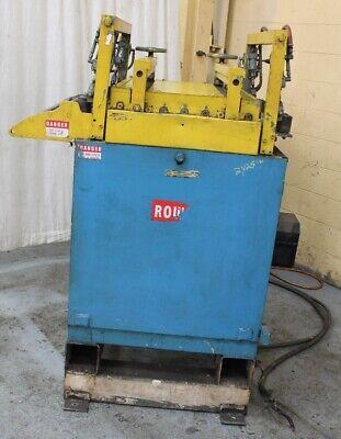 30 Rowe Motorized Servo Driven Feeder Straightener Yoder 62481