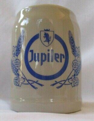 JUPILER BIER GERMAN STONEWARE .5L BEER STEIN MUG