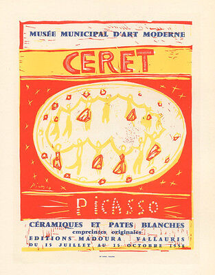 Picasso lithograph poster (printed by Mourlot)