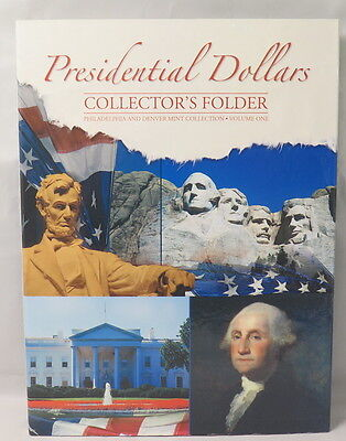 PRESIDENTIAL DOLLARS FOLDER #1, WHITMAN,P&D MINTS 2007-2011 (#2279) CLEARANCE