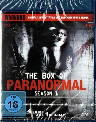 The Box Of Paranormal Season 1- Blu-ray NEU OVP 4 Filme Grusel Horror Geister