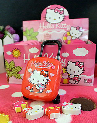 Hellokitty Luggage Box Mini Rubber Eraser Creative Stationery School Lm747