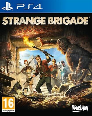 Strange Brigade (PS4) Brand New  & Sealed Free UK Postage UK PAL