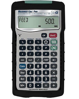 Calculated Industries International Machinist Calc Pro Calculator 4089