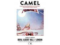 2x Camel Tickets, Royal Albert Hall Sept 17th