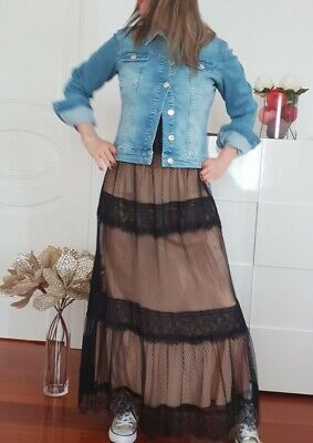 Abito dress vestiti Simona Barbieri Twin Set 44 new