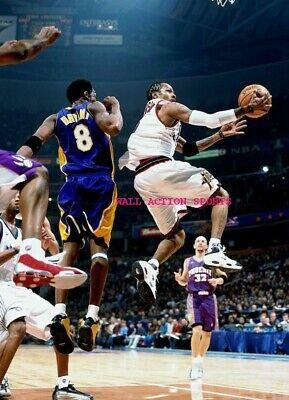 ALLEN IVERSON KOBE BRYANT - NBA Basketball LAKERS Poster 24