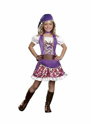 GYPSY PRINCESS FORTUNE TELLER CHILD HALLOWEEN COSTUME GIRLS SIZE SMALL 6-7](Children's Gypsy Halloween Costumes)