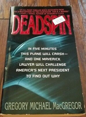 Deadspin By Gregory M  Macgregor  1998  Paperback  Reprint