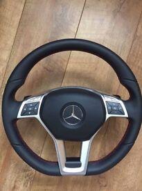 Mercedes A45 Amg genuine steering wheel, gear knob & airbag