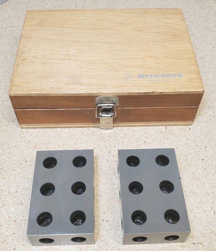 "Mitutoyo No. 961-911 - 1"" - 2"" - 3"" blocks"