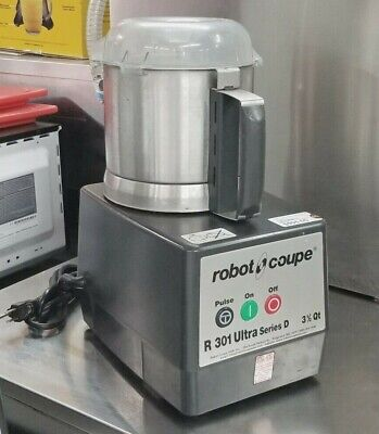 Robot Coup R 301 Ultra Series D Food Processor 3.5 Qt With Blade 120601ph