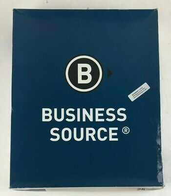 Business Source 2-pocket Folders 100 Sheet Capacity 25 Per Box Bsn78531