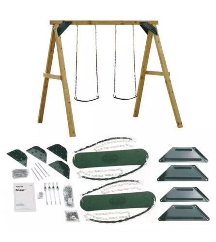 Swing Set Play Playset Kids Outdoor Playground Backyard Slid