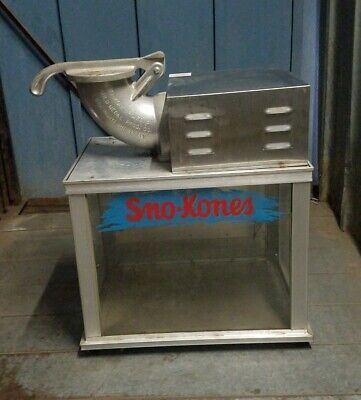 Sno Konette Ice Shaver 1003 Snow Cone Machine - Works Great - Commercial Use