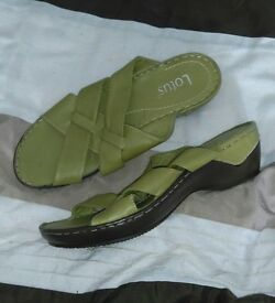 New Lotus Leather Sandals Size 6