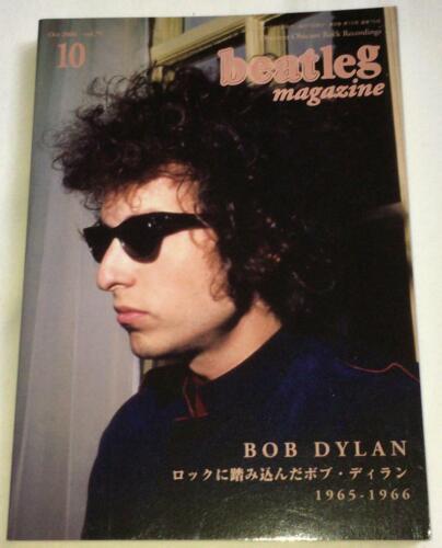 beatleg 10/2006 Japan Music Magazine Bob Dylan George Harrison Eric Clapton Jeff