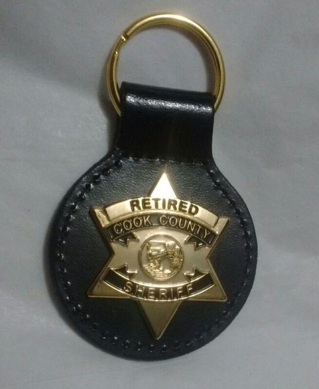 Chicago Cook County Sheriff Supervisor Retire Key Chain