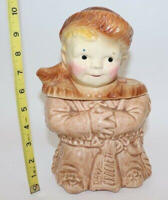 ORIGINAL Vintage Young 'Davy Crockett' Cookie Jar