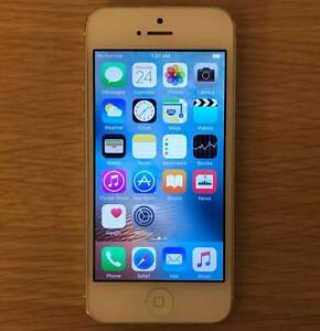 iPhone 5 16G Silver unlocked good condition $199 fixed price Rockdale Rockdale Area Preview
