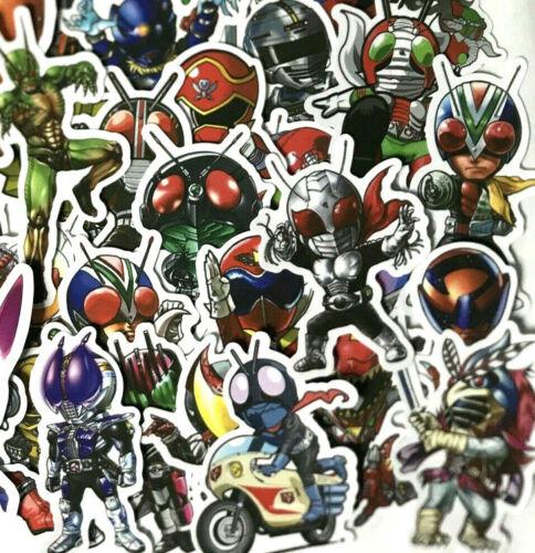 50pc Kamen Rider Japanese Manga Notebook Laptop Decal Sticker Pack