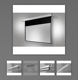 Like new 180 X 130 Celexon ceiling recessed electric professional screen