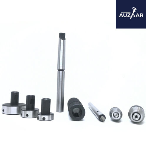 Lathe Tailstock Tap And Die Holder Set Sliding Type MT2 Shank 2MT Imperial Size
