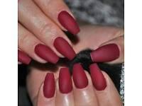 Freelance acrylic nail technician