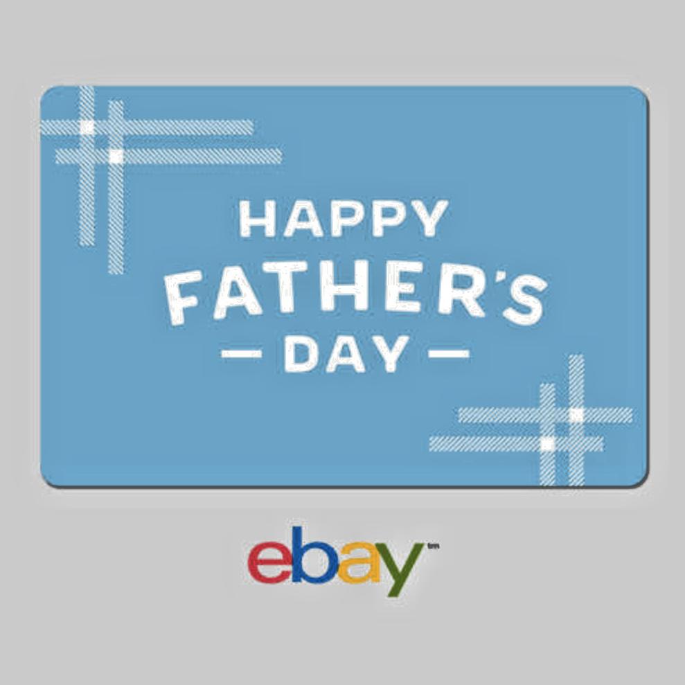 Купить eBay - eBay Digital Gift Card Happy Father's Day - Email Delivery