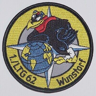 Luftwaffe Aufnäher Patch  1 Staffel LTG 62 Wunstorf C-160 Transall .......A2139