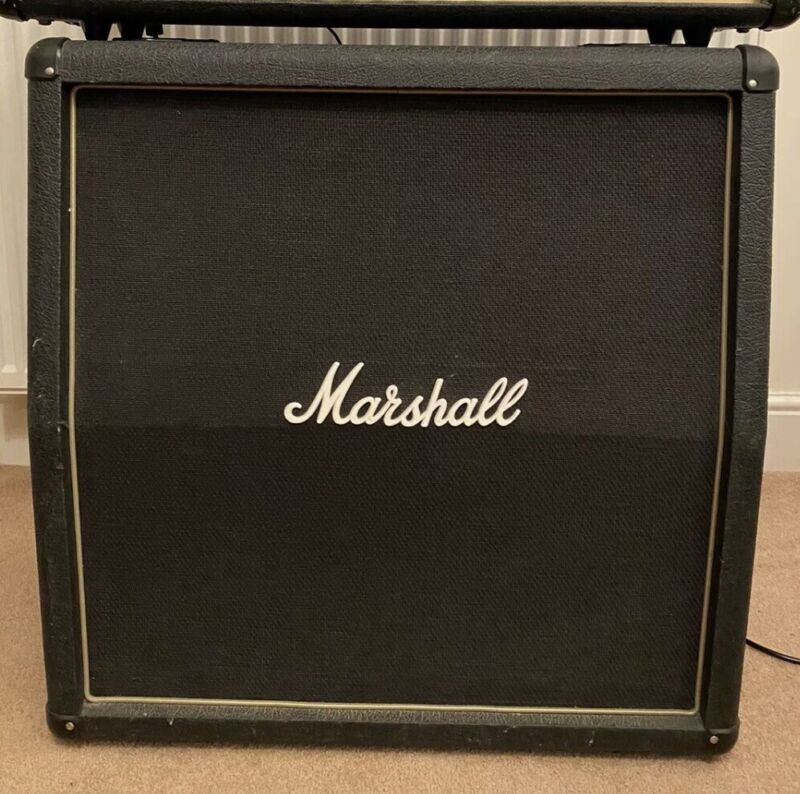 "Marshall AVT412 200W guitar 4 X 12"" speaker cabinet Msg me re. possible delivery"