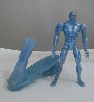 "Marvel Legends X-Men Classics Ice-Man w/Ice Sled 6"" Action Figure By ToyBiz"