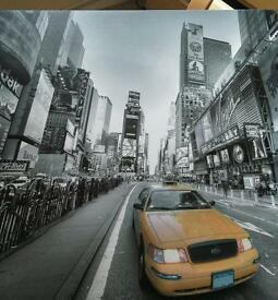 Two New York canvases