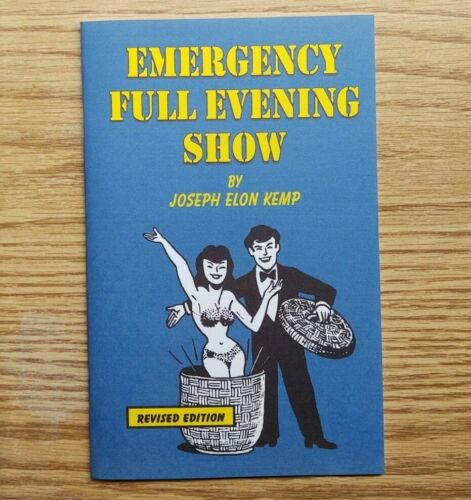 Emergency Full Evening Show by Joseph Kemp