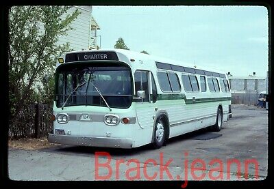 All West Tours (CA) original bus slide # 724 taken 1985