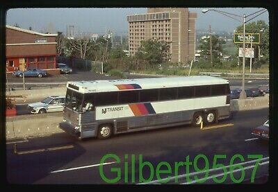 New Jersey Transit (NJ) original bus slide # PA6412 taken 1985