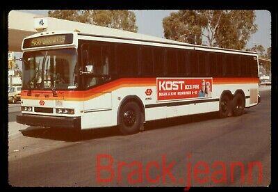 SCRTD Los Angeles (CA) original bus slide # 1134 taken 1987