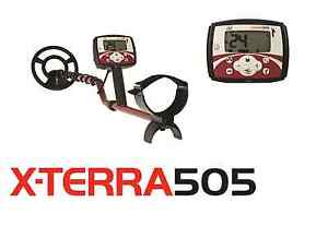 New Price!! Minelab X-TERRA 505 metal detector;FREE SHIPPING and FREE Backpack