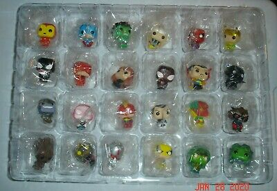 FUNKO Marvel Christmas Advent Calendar ~ All 24 ~ Loose Set ~ Sealed In Packages