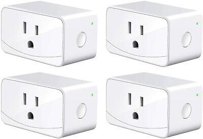 meross smart plug mini wifi outlet 16a