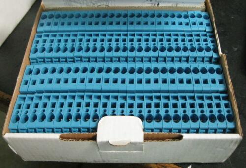 Allen-Bradley 1492-L4-B Terminal Blocks Series A LOT OF 50 Blue