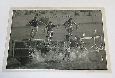 1932 Olympics Sammelwerk Olympia Trading Card 6/35/19 300 Meter Race Track -