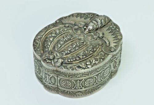 Antique Chinese  Silver Box