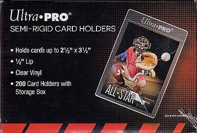 Ultra Pro  200 count box semi rigid card holder  #81150
