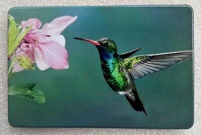"BIRD with FLOWER, Billet Aluminum Trailer Hitch plug Cover,UV, 3""X5"""