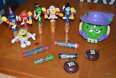 M & M DISPENSER DEAL: HALLOWEEN SPECIAL RARE WITCH GREEN PALE, FANS & MUCH MORE (Halloween M&m Dispenser)