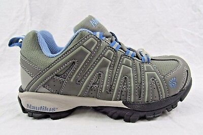 Nautilus Women's SD Athletic Soft Toe Work Shoes - Size 8 - New Grey (Nautilus Sneakers)