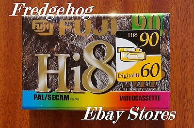 FUJI HI P5-90DS DIGITAL 8 / Hi8 VIDEO CAMCORDER TAPE / CASSETTE-  SUPERB QUALITY